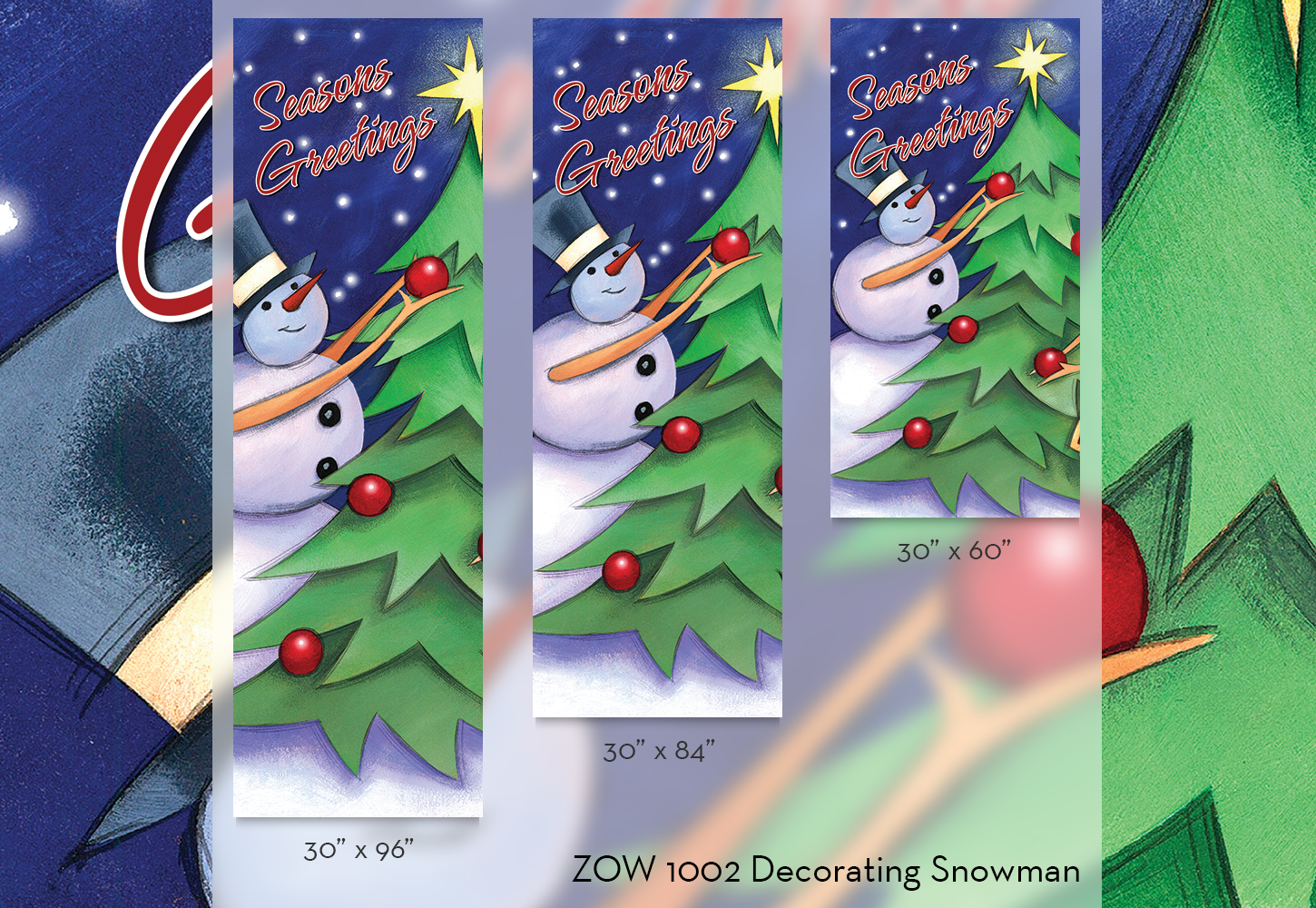 ZOW 1002 Decorating Snowman
