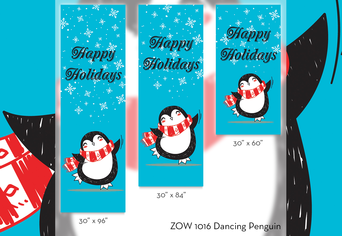 ZOW 1016 Dancing Penguin