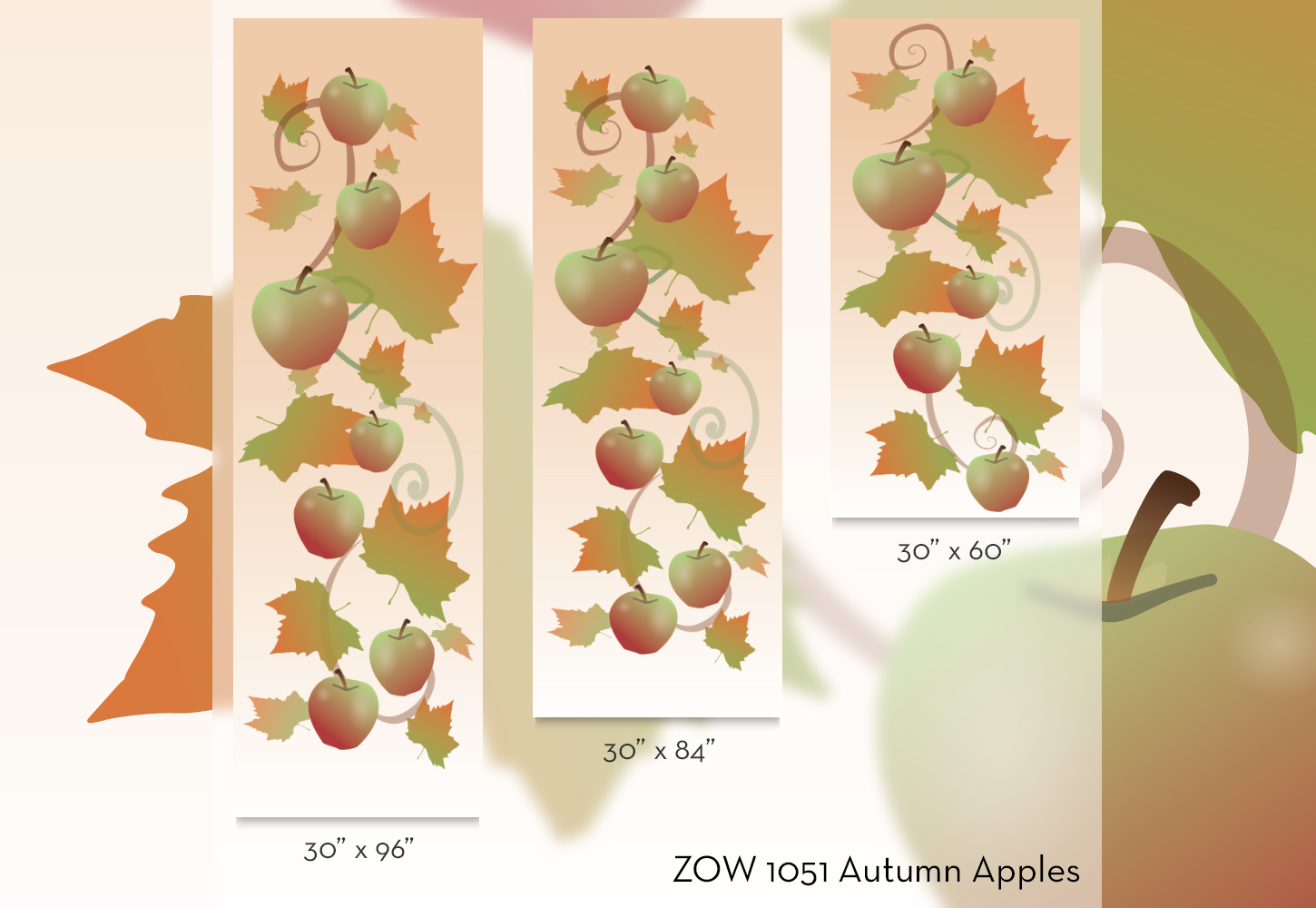 ZOW 1051 Autumn Apples