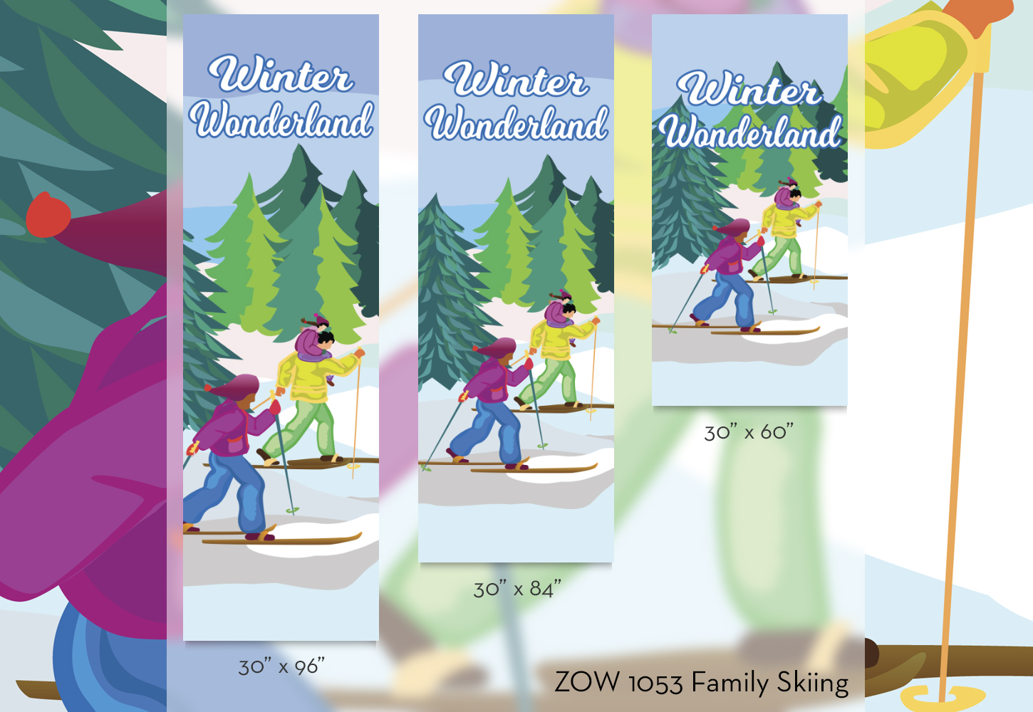 ZOW 1053 Family Skiing