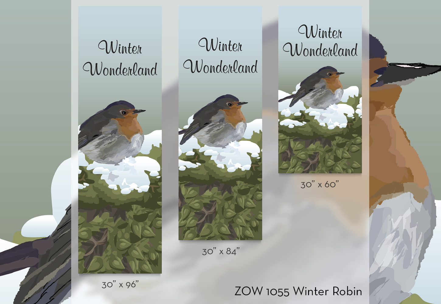 ZOW 1055 Winter Robin