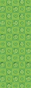 ZOW 1067 St. Pat's Clover Background
