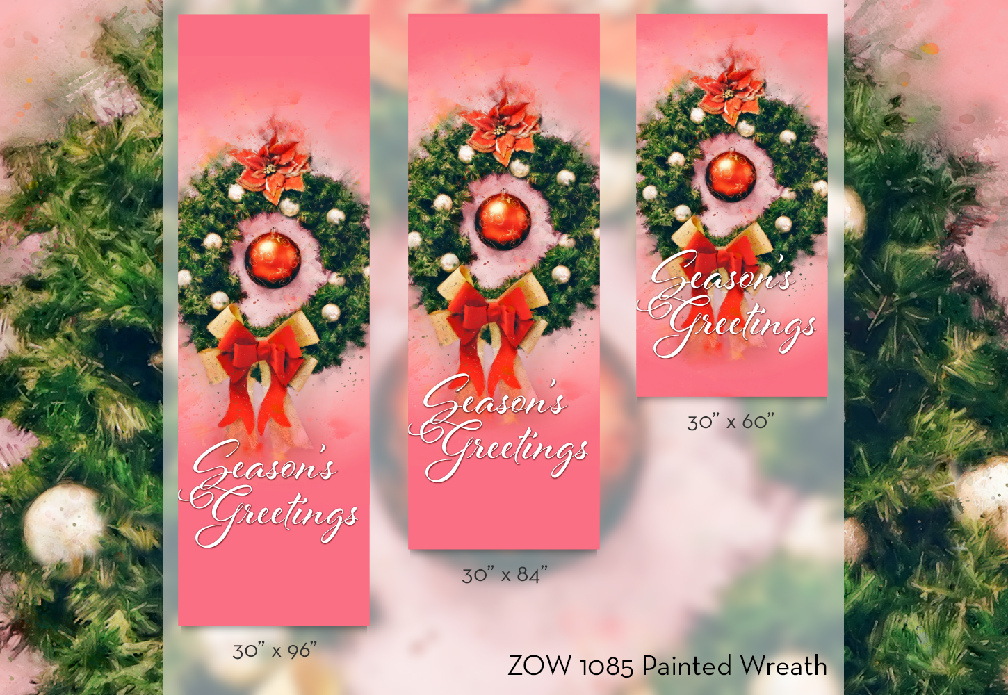 ZOW 1085 Painted Wreath
