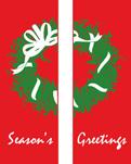 zow zow 116 Season's Greetings Double Wreath