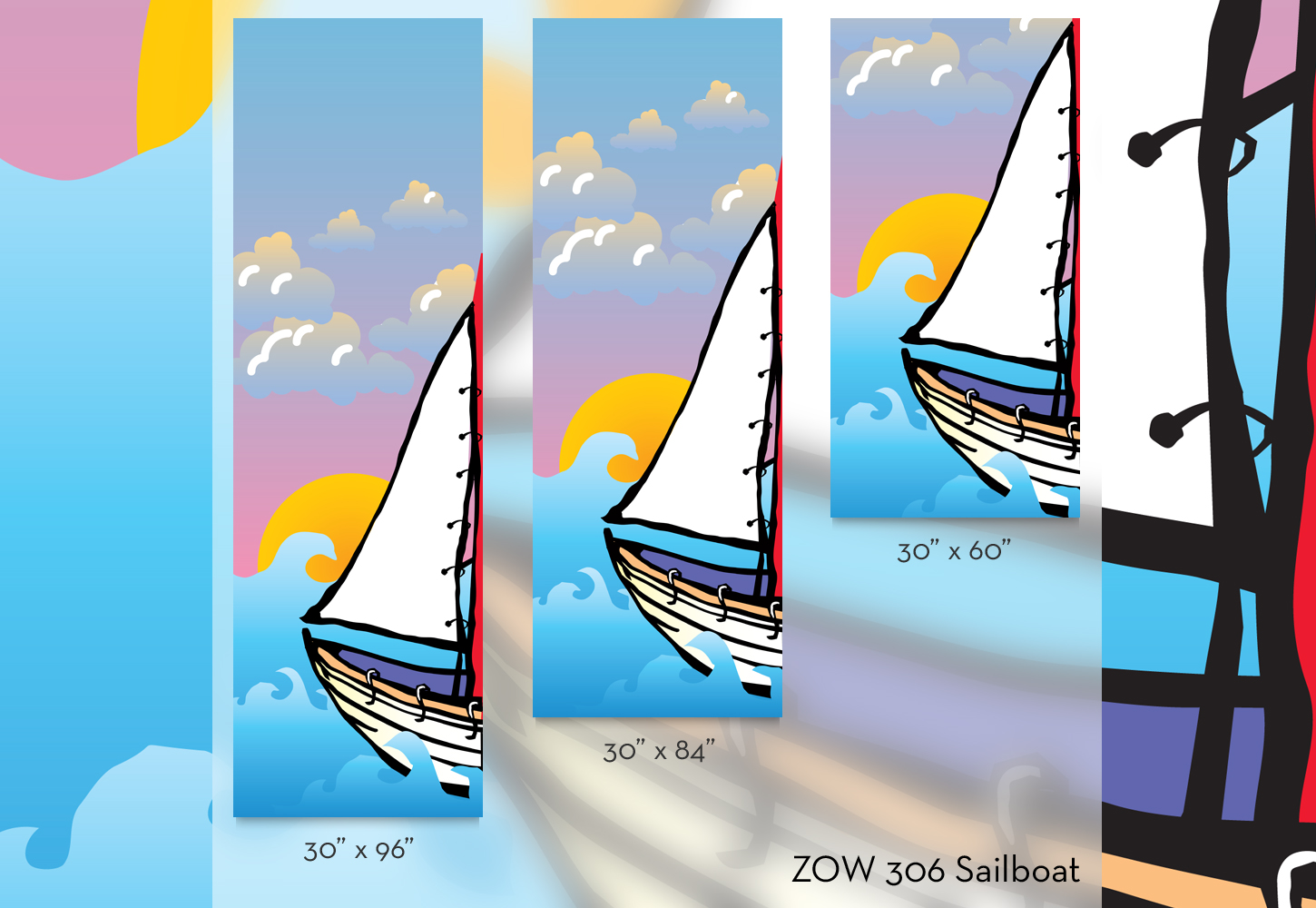 ZOW 306 Sailboat