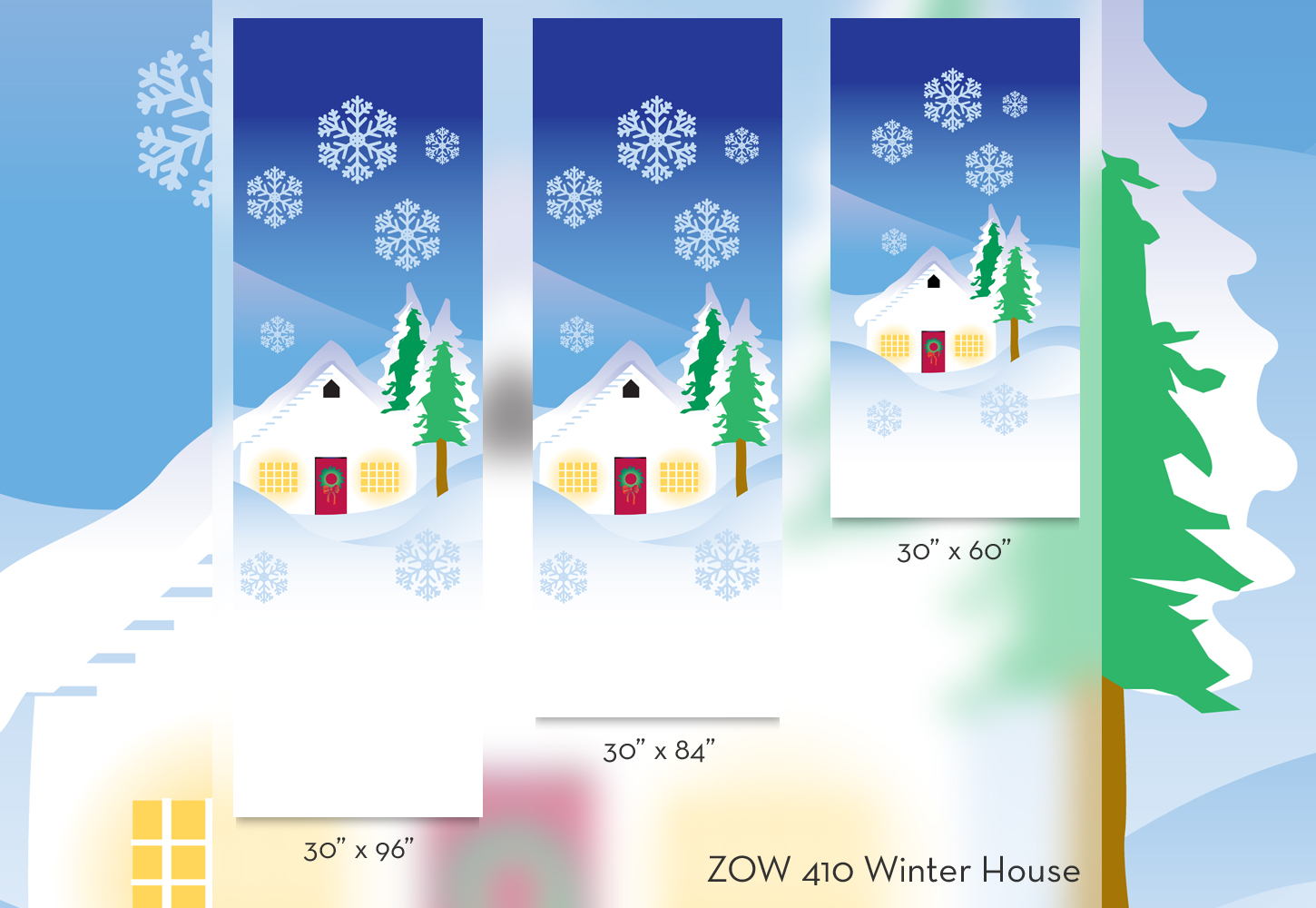 ZOW 410 Winter House
