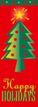 zow 603 Happy Holidays Tree