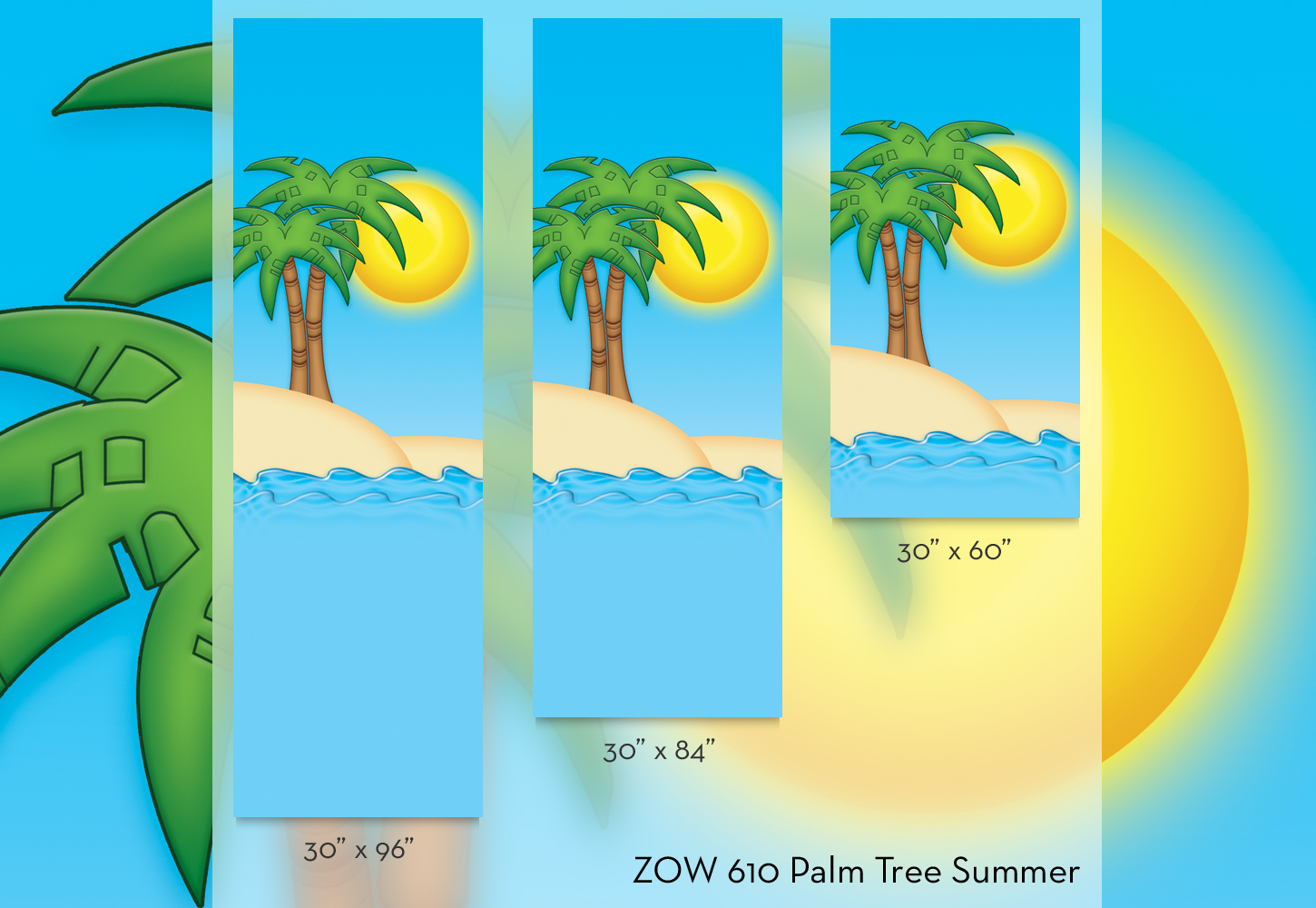 ZOW 610 Palm Tree Summer