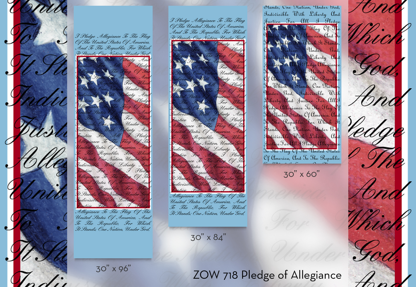 ZOW 718 Pledge of Allegiance