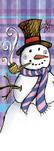 zow 811 Plaid Snowman