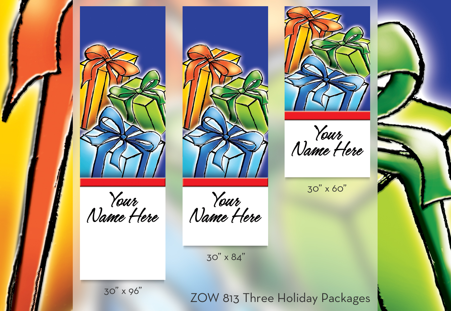 ZOW 813 Three Holiday Packages