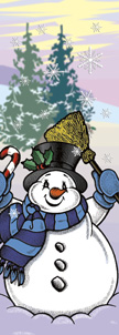 ZOW 816 Snowman with Broom