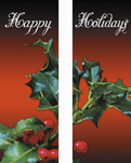 zow 901b Happy Holidays Holly