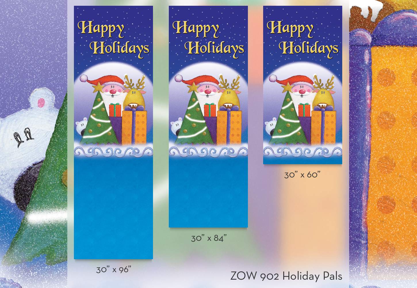 ZOW 902 Holiday Pals