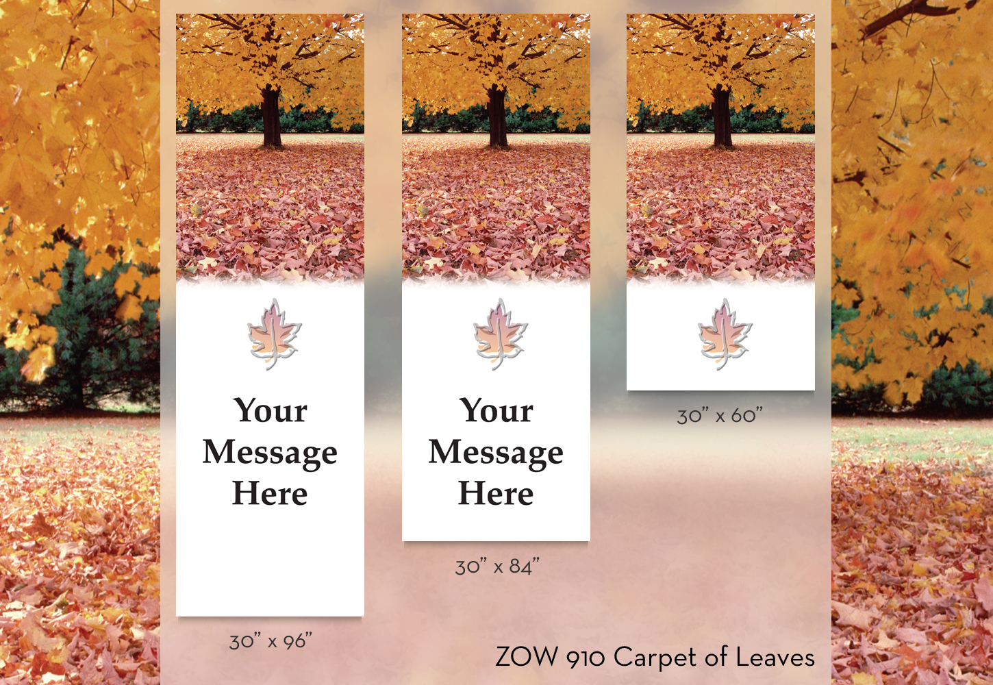 ZOW 910 Carpet of Leaves