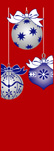 zow 911R Blue & Silver Ornaments