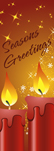 zow 918 Seasons Greetings Candles