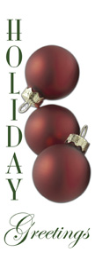 ZOW 922 Holiday Greetings Ornaments