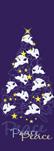 zow 927 Peace Doves Holiday Tree