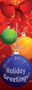 ZOW 944 Holiday Greetings Ornament