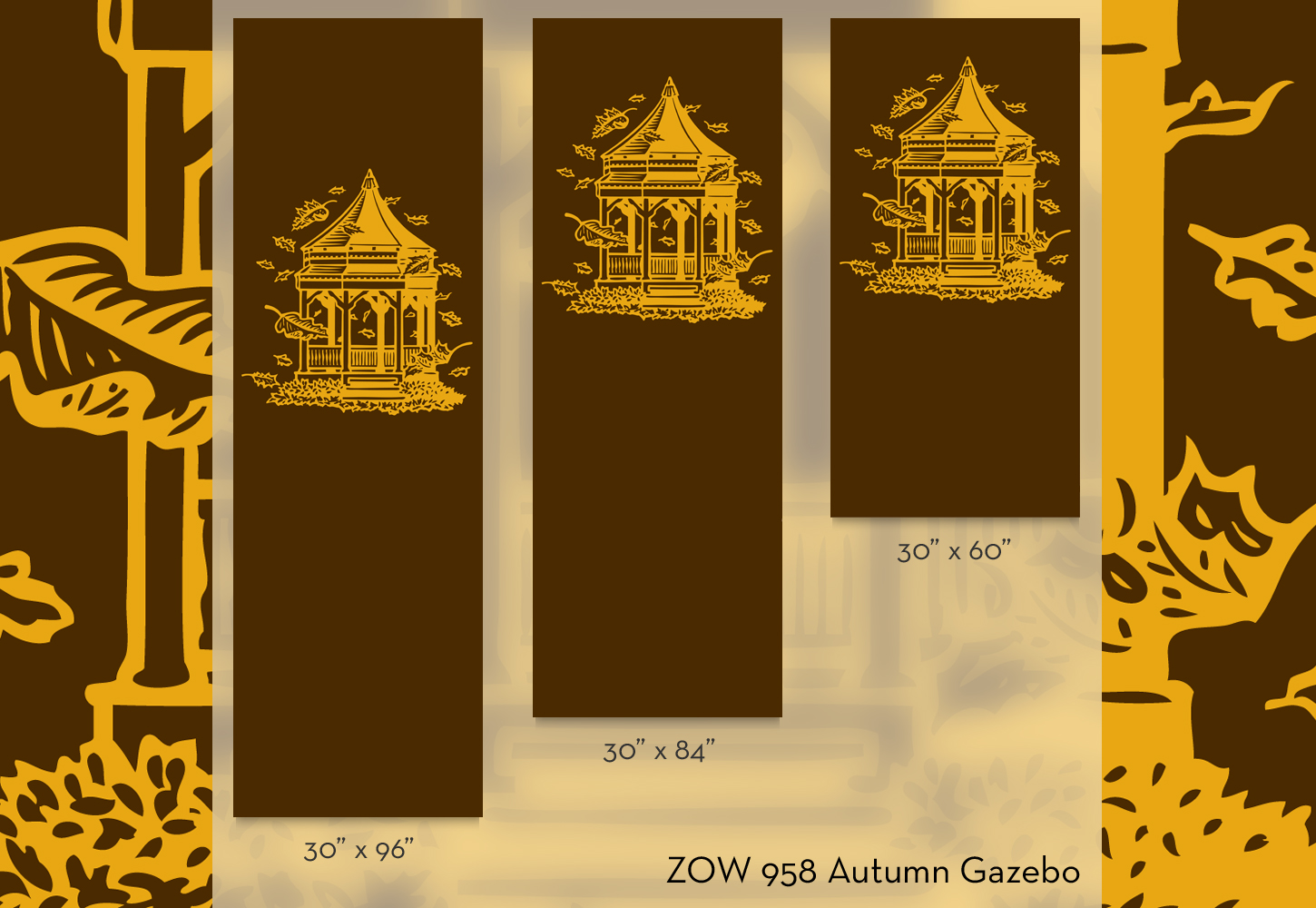 ZOW 958 Autumn Gazebo