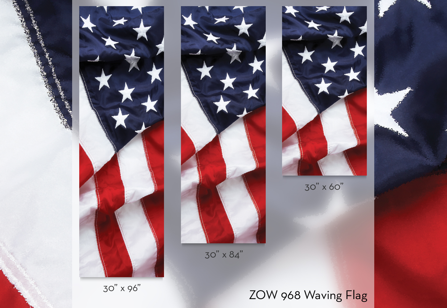 ZOW 968 Waving Flag