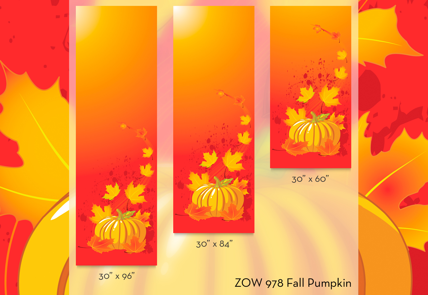 ZOW 978 Fall Pumpkin