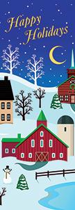ZOW 996 Happy Holidays Barn